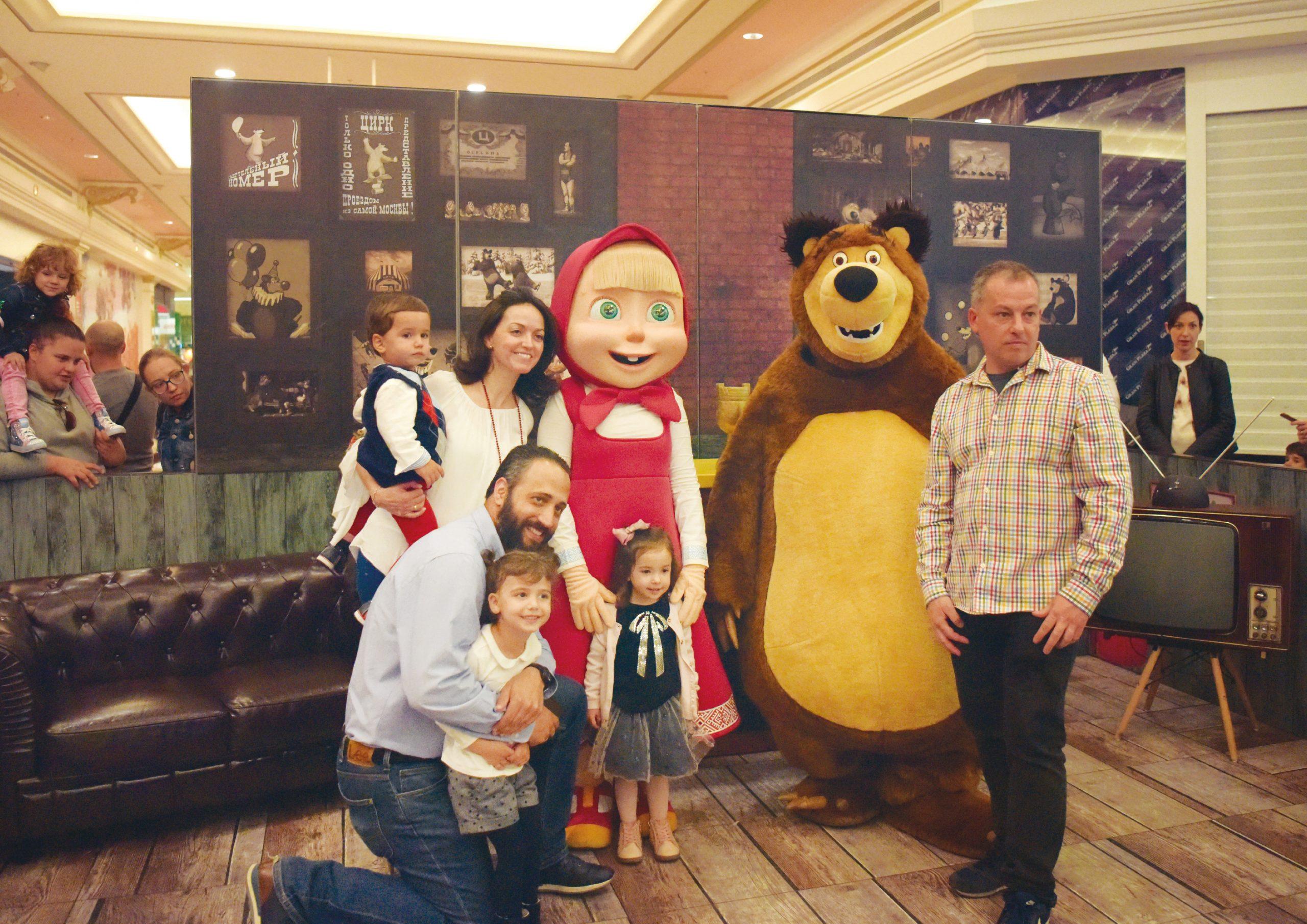 MASHA AND THE BEAR EVENT – ANIMACORD