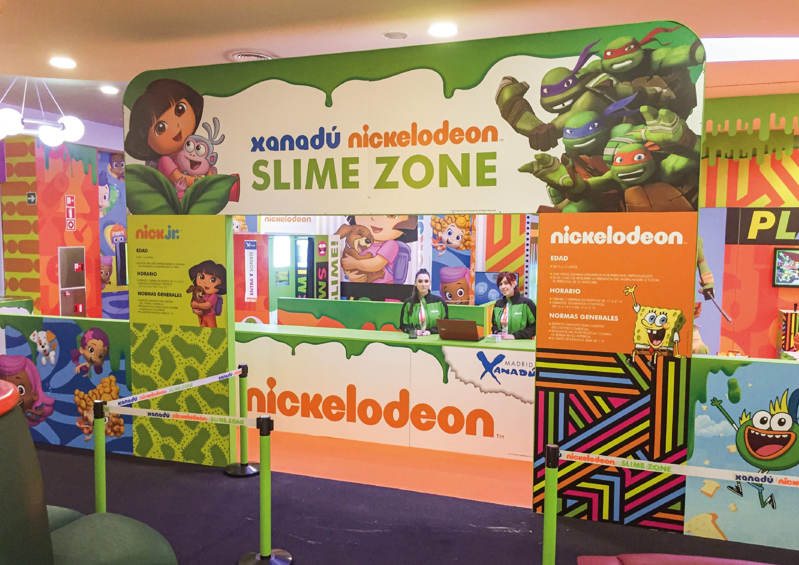 SLIME ZONE – NICKELODEON