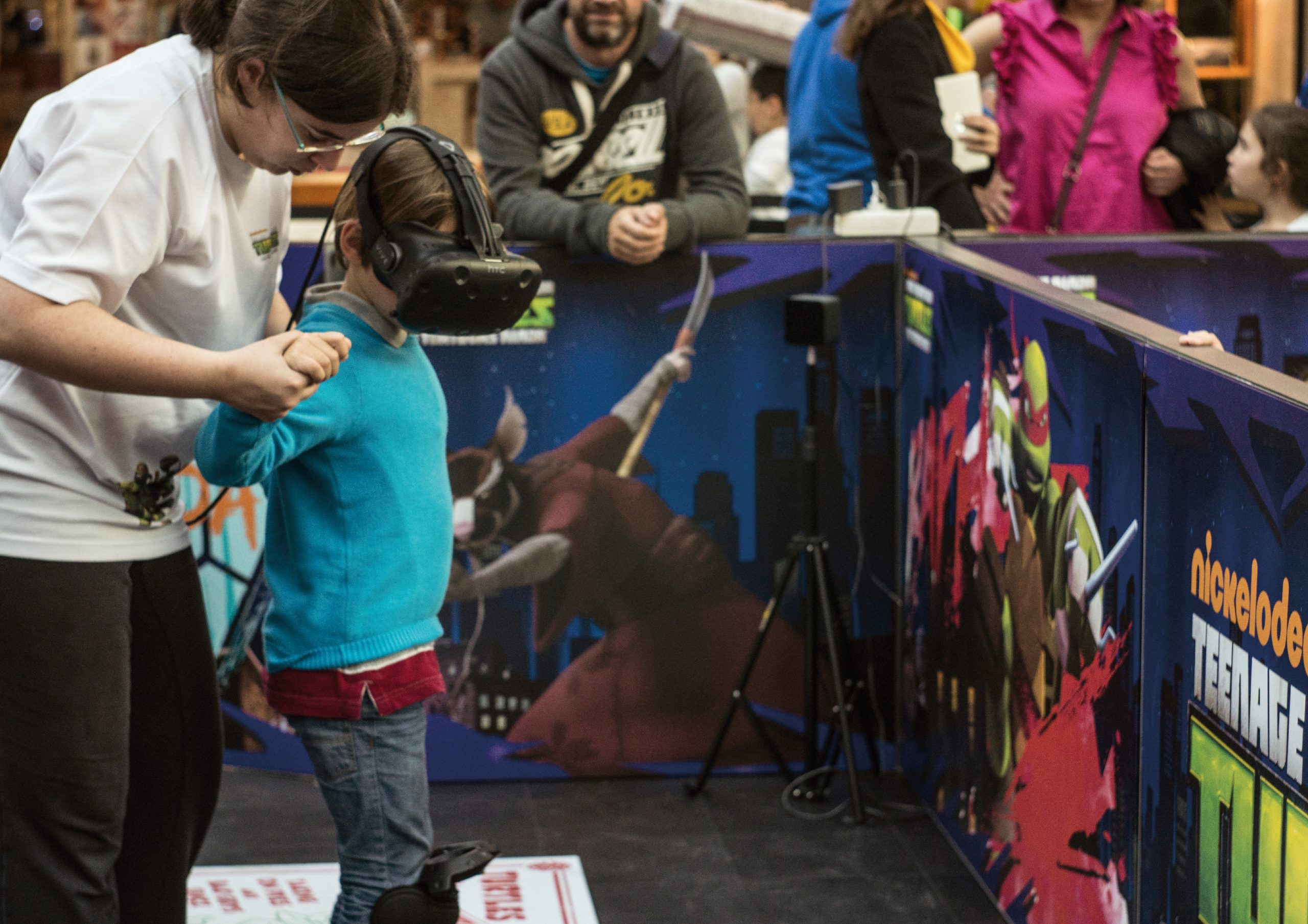 TEENAGE MUTANT NINJA TURTLES VR TOUR – NICKELODEON