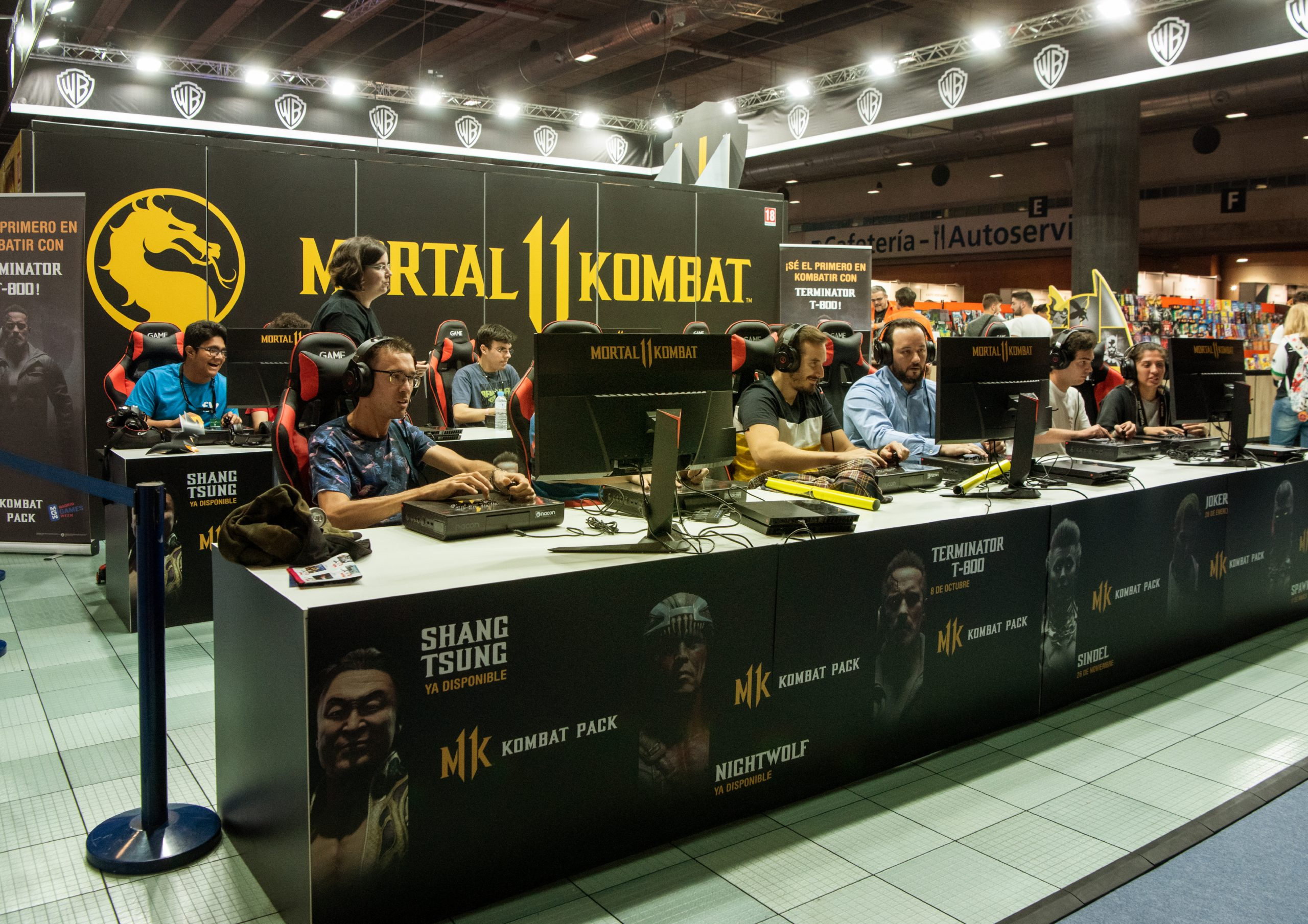 MADRID GAMES WEEK – WARNER